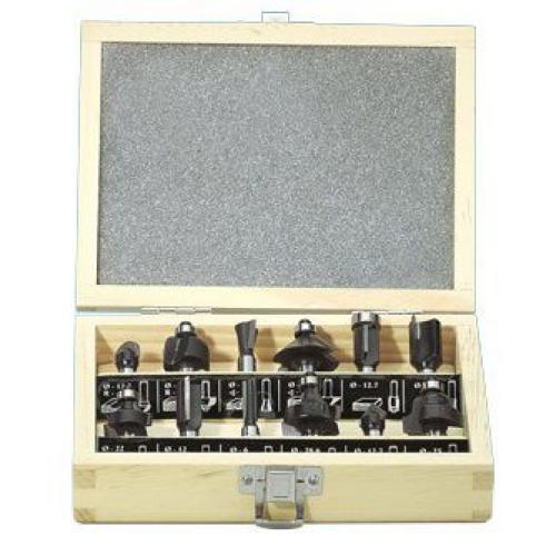 Набір фрез 8мм 12 одиниць Hitachi / HiKOKI 500507