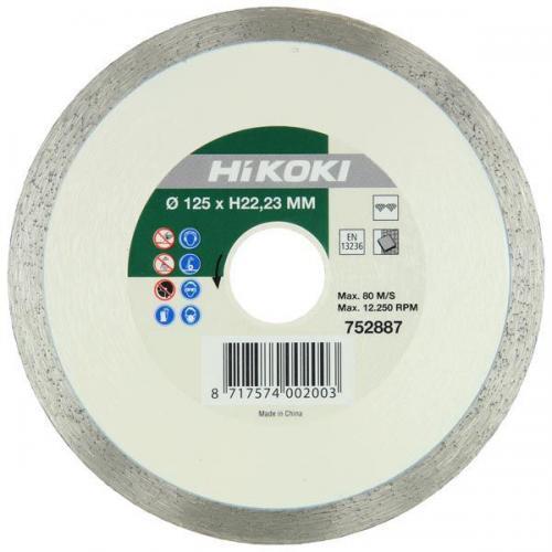Діамантовий диск 125x22,2 Hikoki 752887