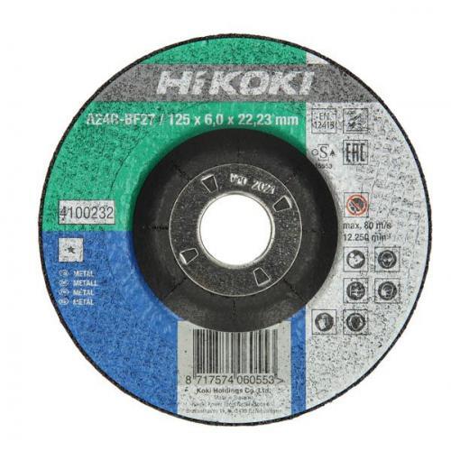 Диск відрізний 180х6х22,2 по металу (Hitachi 752554) Hikoki 4100234