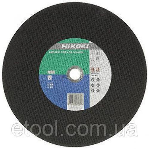 Диск отрезной по металлу 350х2,8х25,4мм Hitachi 752572 / HiKOKI 4100242