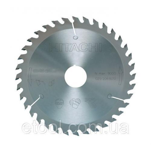 Диск пильний для циркулярних пилок 185х30 48 зубців HiKOKI / Hitachi 750311