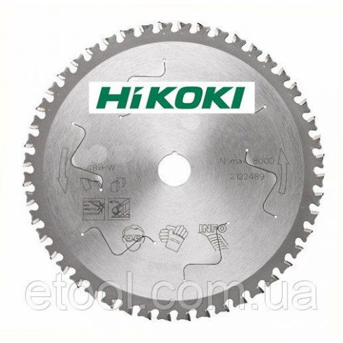 Диск пильний по сталям і спецсталям 305х25,4 60 зубів Hitachi Hikoki 752471