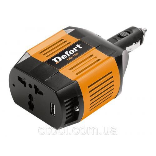 Інвертор автомобільний Defort DCI-150