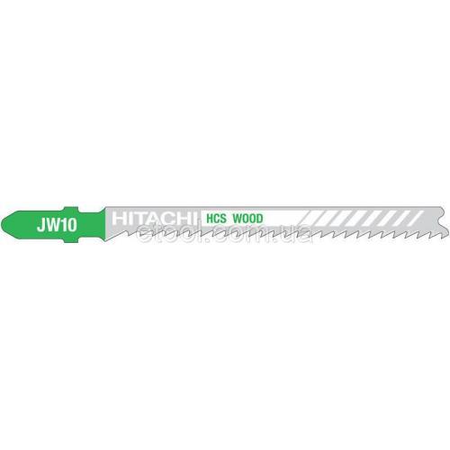 Лобзикова пилка по дереву JW10 T101B 5 одиниць Hitachi / HiKOKI 750044