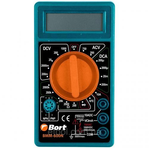 Мультиметр електричного струму Bort BMM-600N