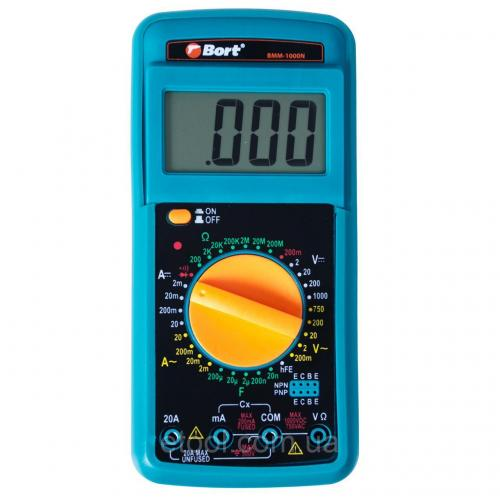Мультитестер електричного струму BORT BMM-1000N