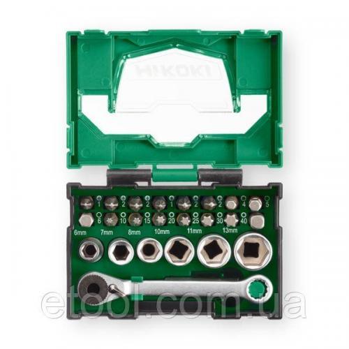 Набір біт та торцевих головок 24 одиниці Hitachi / HiKOKI 40030020
