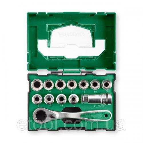 Набір торцьових головок 13 одиниць Hitachi / HiKOKI 40030033