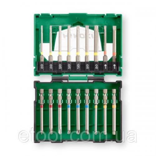 Набір подовжених біт 75 мм 18 предметів Hitachi / HiKOKI 40030022
