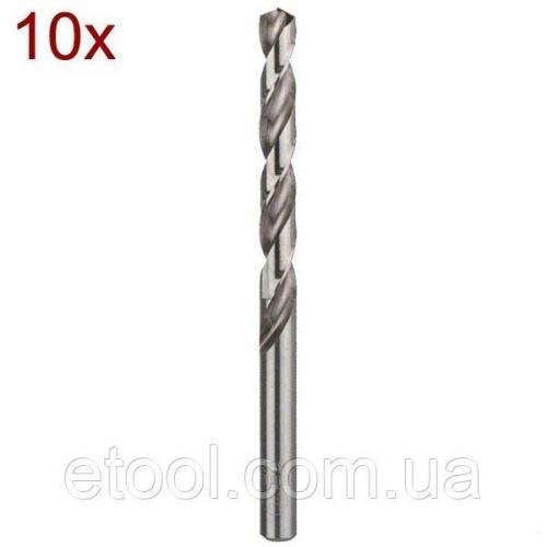Свердло по металу 4х75х43 HSS-G DIN 338 10 шт. Hitachi / HiKOKI 780297